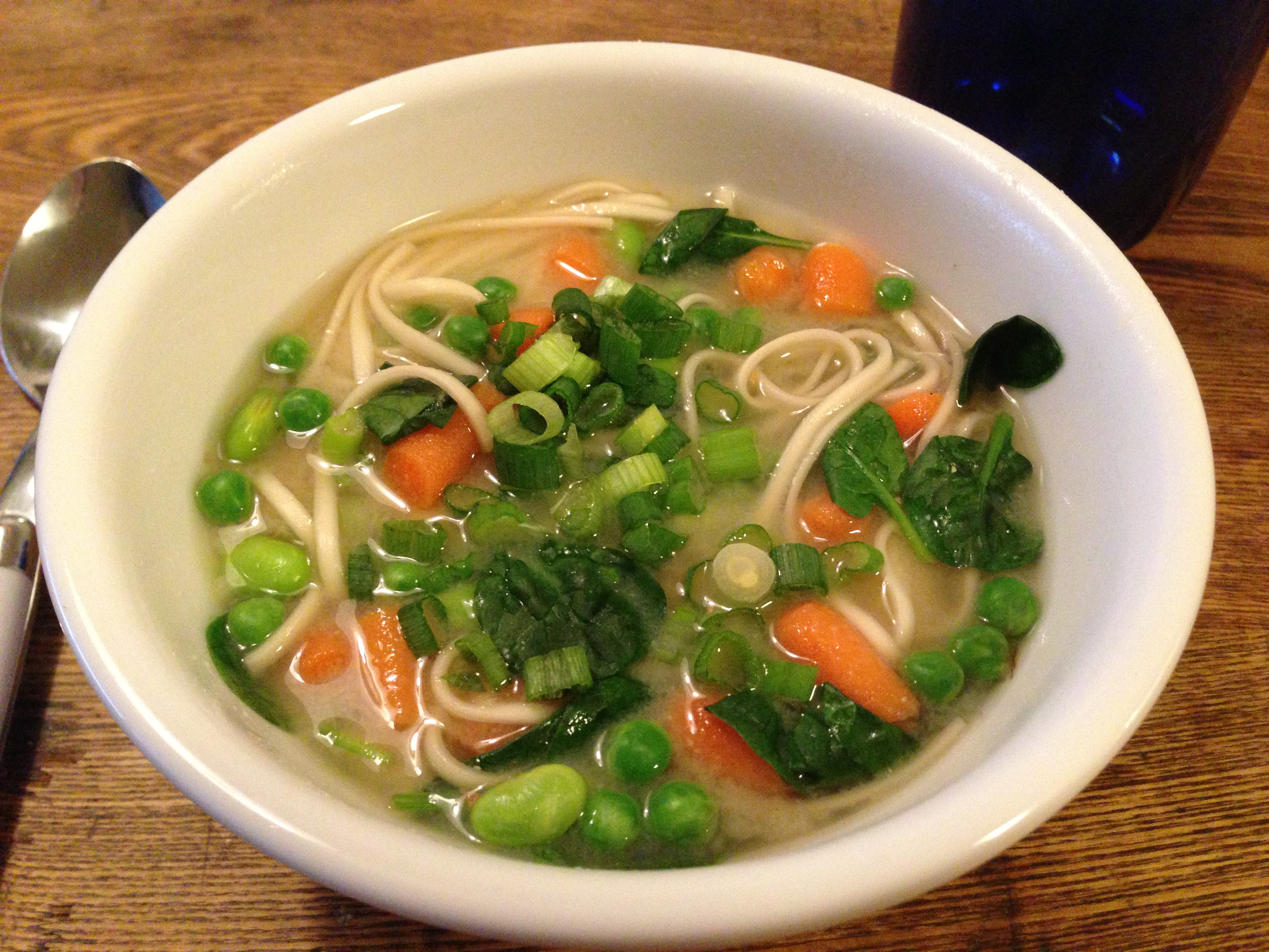 miso udon noodle soup with spicy udon noodle soup easy miso udon soup ...